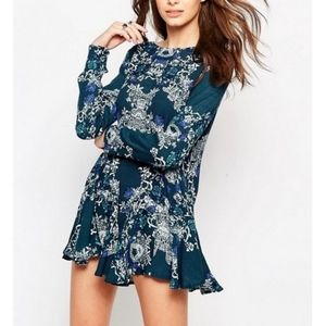 Free People Smooth Talker Swing Dress Size Small